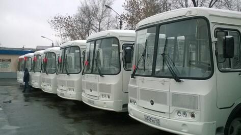 В 2016 году Воронежская область получит 150 автобусов для районов