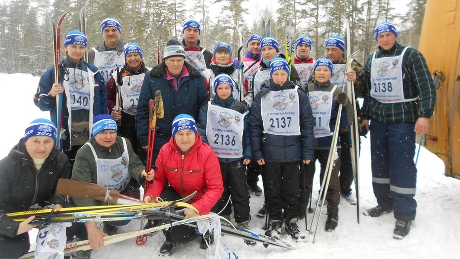 В «Лыжне России-2015» приняли участие 20 таловчан