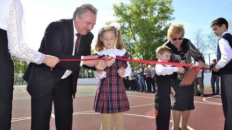 В Грибановском районе появилась универсальная спортивная площадка
