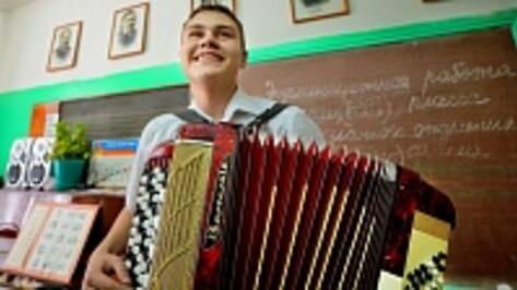 Борисоглебским музыкантам подарили новые инструменты