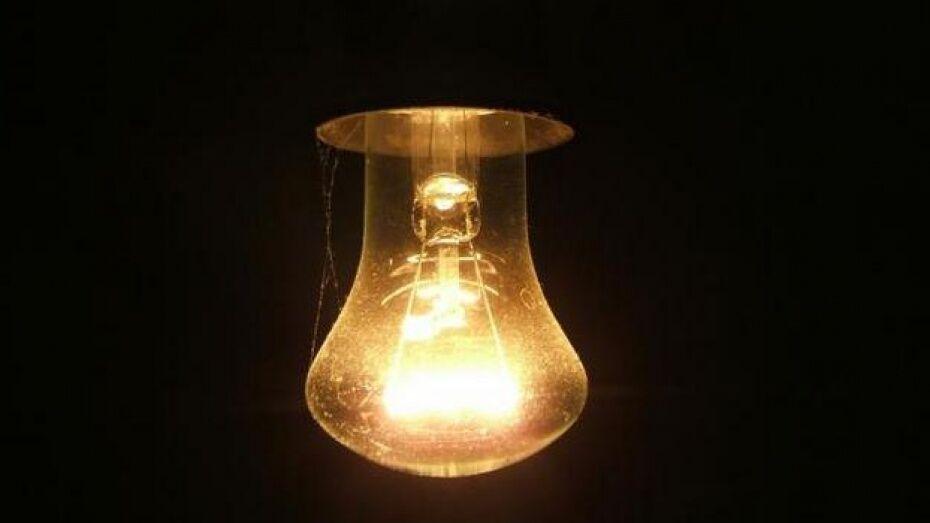 Энергетики сообщили о перебоях в электроснабжении из-за непогоды в Воронежской области