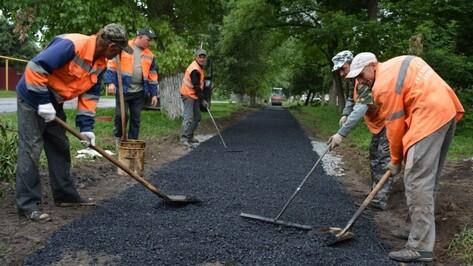 Власти Воронежа выделят 14,9 млн рублей на тротуары и подъезды к соцобъектам