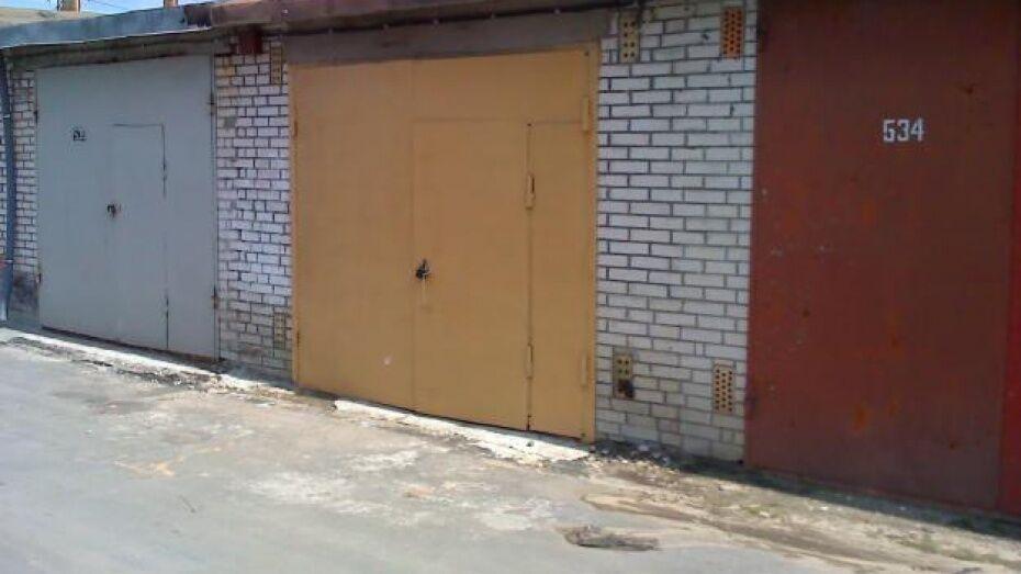 Воронежец из мести поджег гараж коллеги