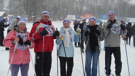 В Хохольском районе около 100 спортсменов приняли участие в лыжной гонке