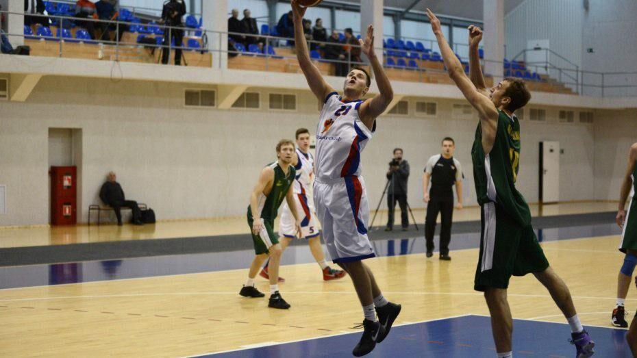 Воронежские баскетболисты поделили очки с БК «Киров»