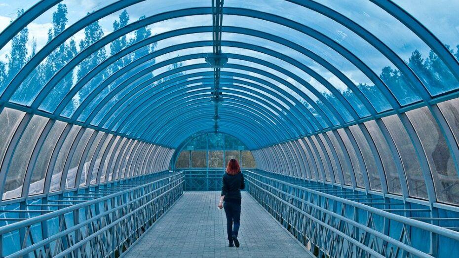 В Воронеже появится новый надземный пешеходный переход