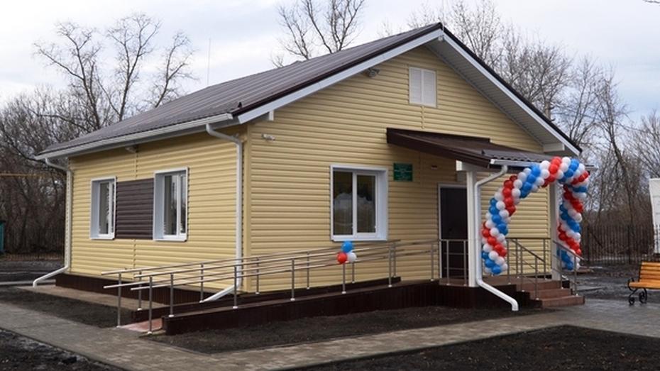В бутурлиновском селе открыли новый ФАП