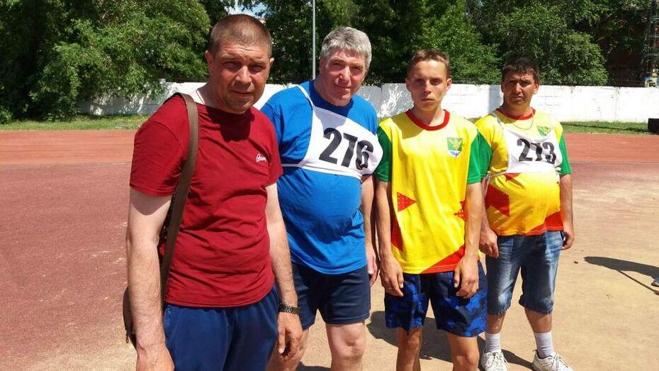 Поворинские паралимпийцы взяли 9 золотых медалей областного первенства по легкой атлетике