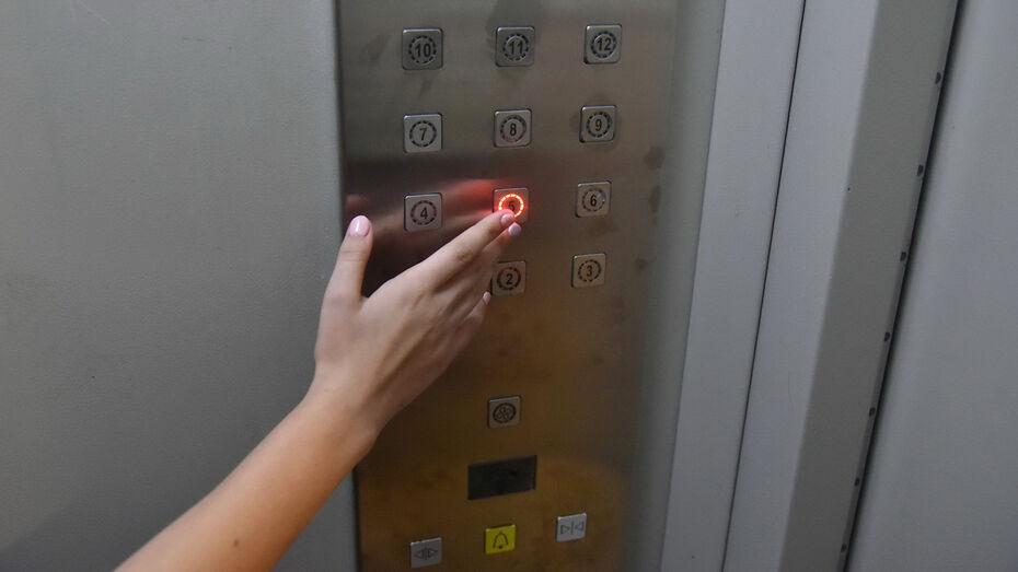 Лифты заменят в 13 многоэтажках Воронежа