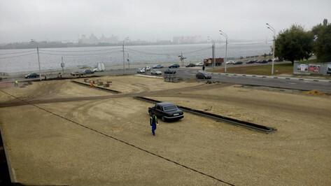 В Воронеже перенесли дату открытия перехватывающей парковки у Чернавского моста