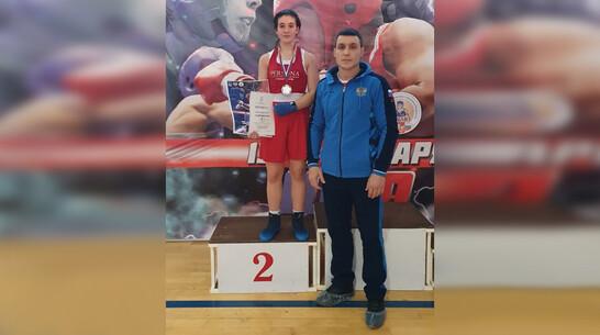 Богучарская спортсменка выиграла «серебро» чемпионата ЦФО по боксу