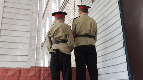 Следствие: сотрудник Воронежского кадетского корпуса разнял драку и ударил кадета об стену