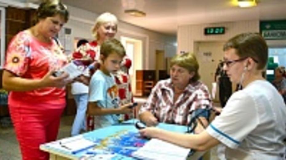Семилукцы приняли участие в областном проекте «Живи долго»