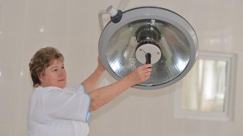 В Семилукской районной больнице закончился капремонт оперблоков