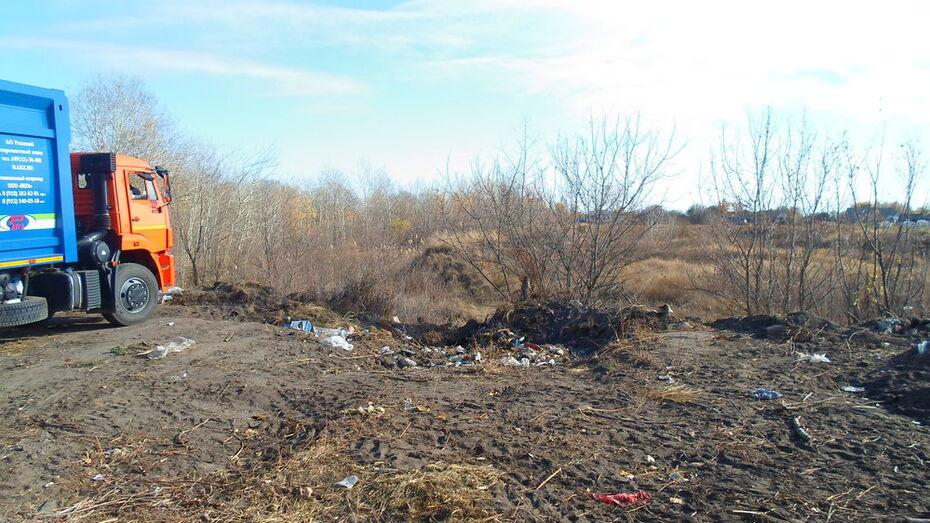 В Павловском районе ликвидируют 44-летнюю несанкционированную свалку