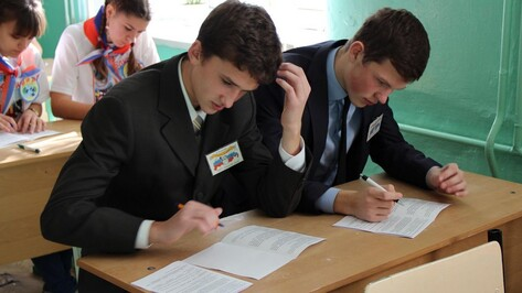 В Хохольском районе состоялась олимпиада по основам избирательного права