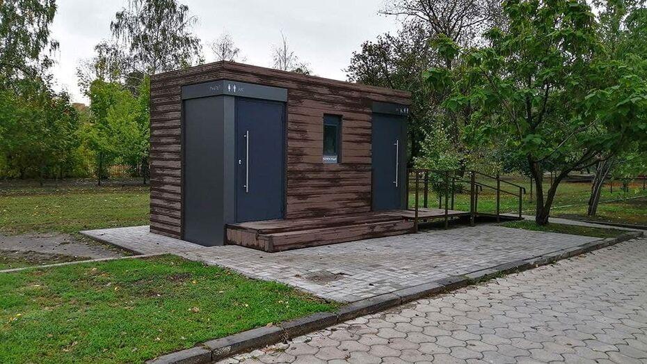 В Воронеже предложили разместить новые общественные туалеты в 6 парках и скверах