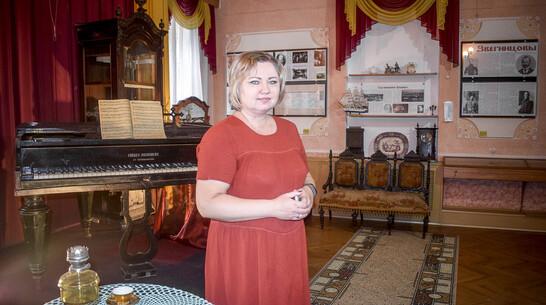 В Лискинском музее создали зал постоянной экспозиции «Дворянско-купеческий уголок»