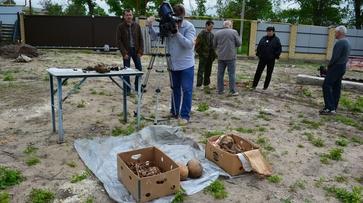 В острогожском селе при строительстве гаража нашли останки 3 солдат