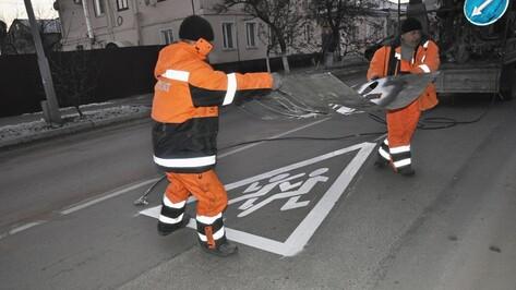 В Павловске появилась необычная дорожная разметка около 4 школ