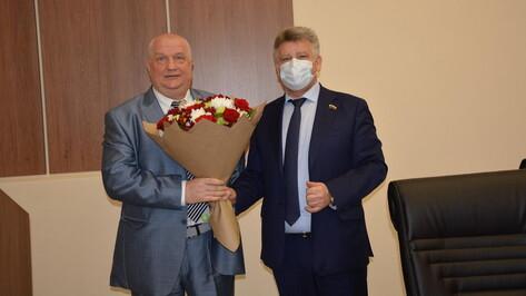 В Воронежской области главу администрации Каширского района выбрали на третий срок