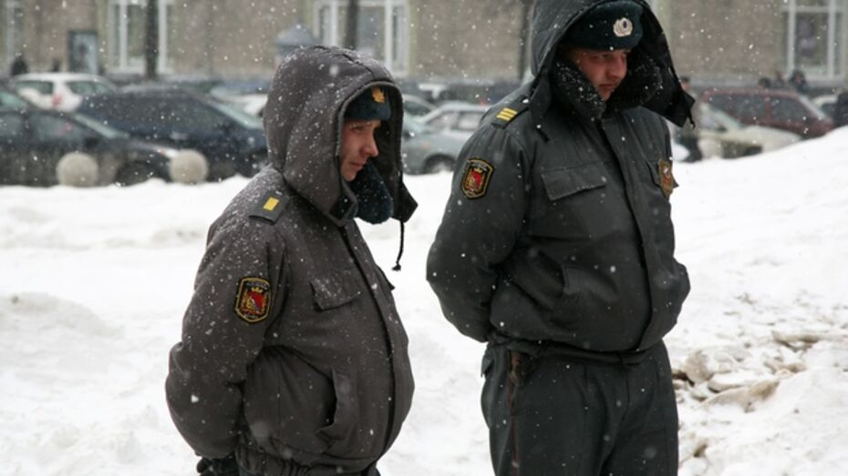 Новогодние каникулы станут рабочими для 727 воронежских полицейских