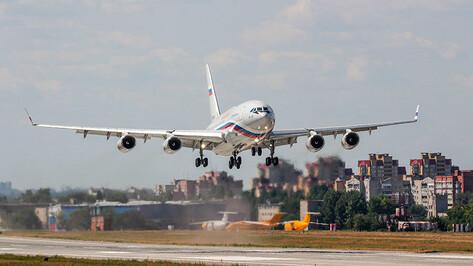В Воронеже состоялся первый полет еще одного «президентского» Ил-96-300
