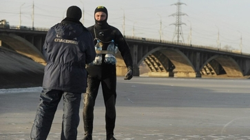 Служба спасения предостерегла воронежцев от выхода на лед