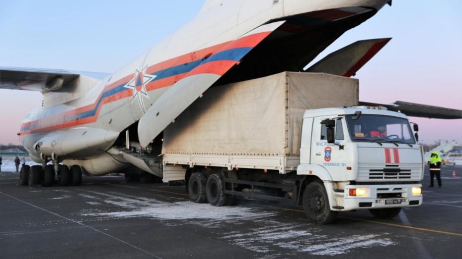 Воронежская область приняла участие в сборе гуманитарной помощи для Китая