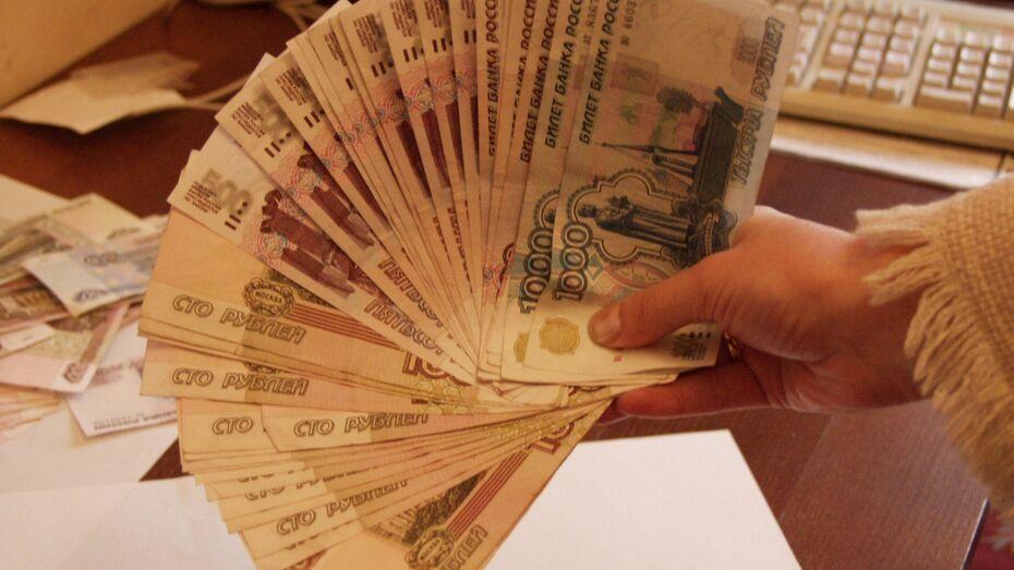 В Воронежской области реальная зарплата работников снизилась на 4,6%