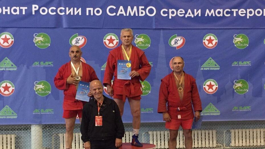 Аннинский фермер стал вице-чемпионом России по самбо среди ветеранов