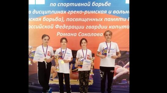 Эртильцы выиграли 3 «золота» на всероссийских соревнованиях по спортивной борьбе