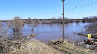 В Грибановском районе уровень воды в реке Ворона повысился на 2 м