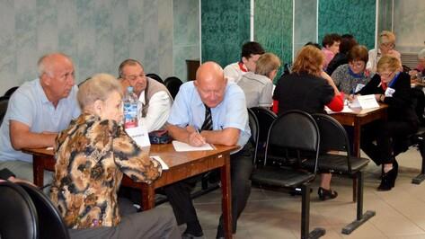 В Семилуках прошел областной чемпионат «Что? Где? Когда?» среди инвалидов