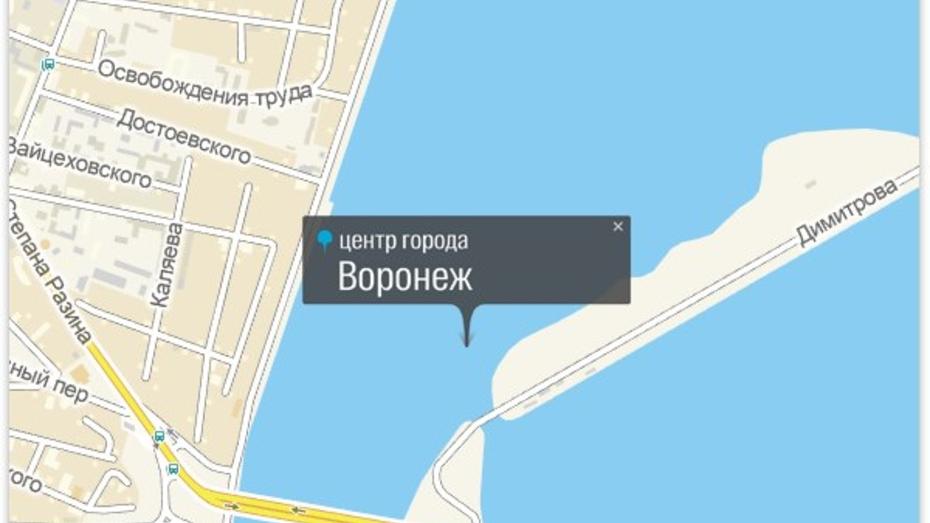 Центр Воронежа оказался в воде