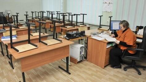 Воронежские школы организовали онлайн-обучение на время карантина по гриппу
