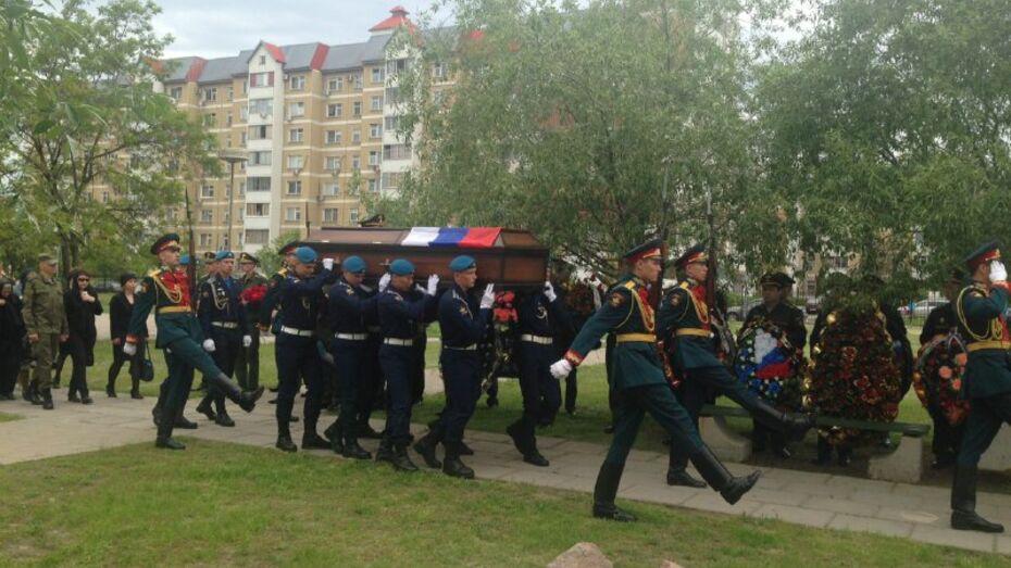 В Воронеже завершилась церемония прощания с погибшим в Сирии Антоном Ерыгиным