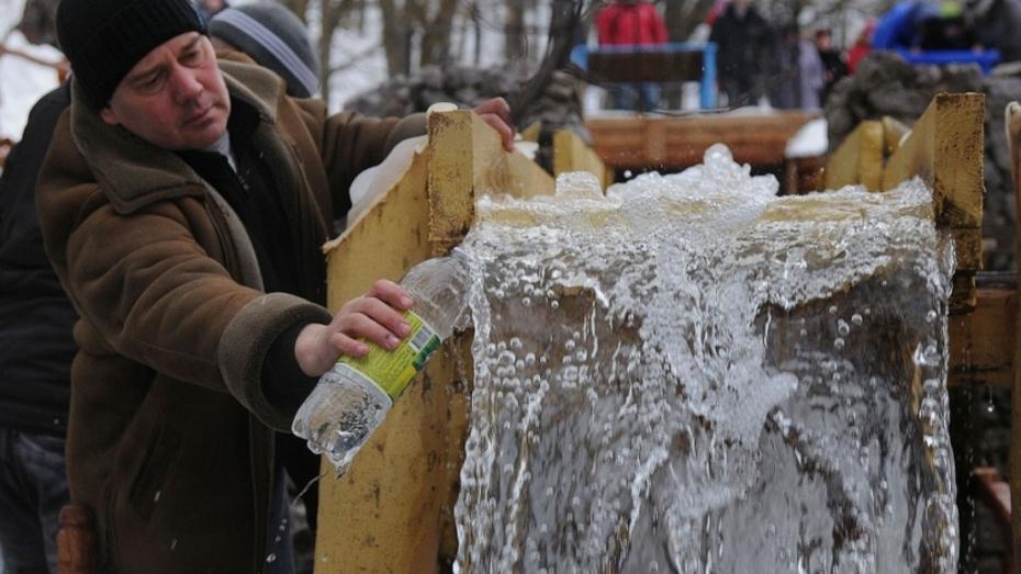 Крещение в Воронежской области: старая мельница в Колодежном (ФОТО)