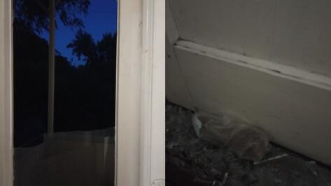 На балкон воронежской пенсионерки забросили гранату и записку
