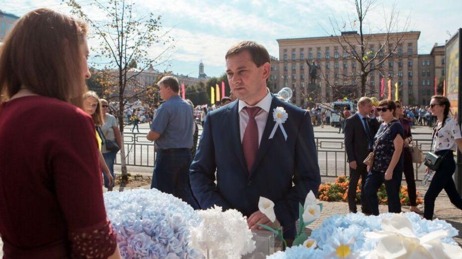 Председатель Воронежской облдумы принял участие в акции «Белый цветок»