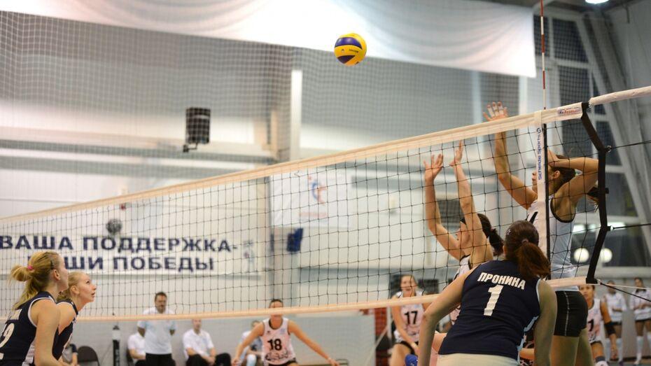 Воронежские волейболистки проиграли в Краснодаре