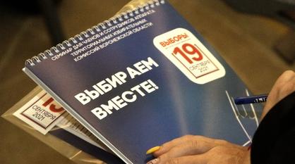 Избирательные участки в Воронежской области подготовили для голосования