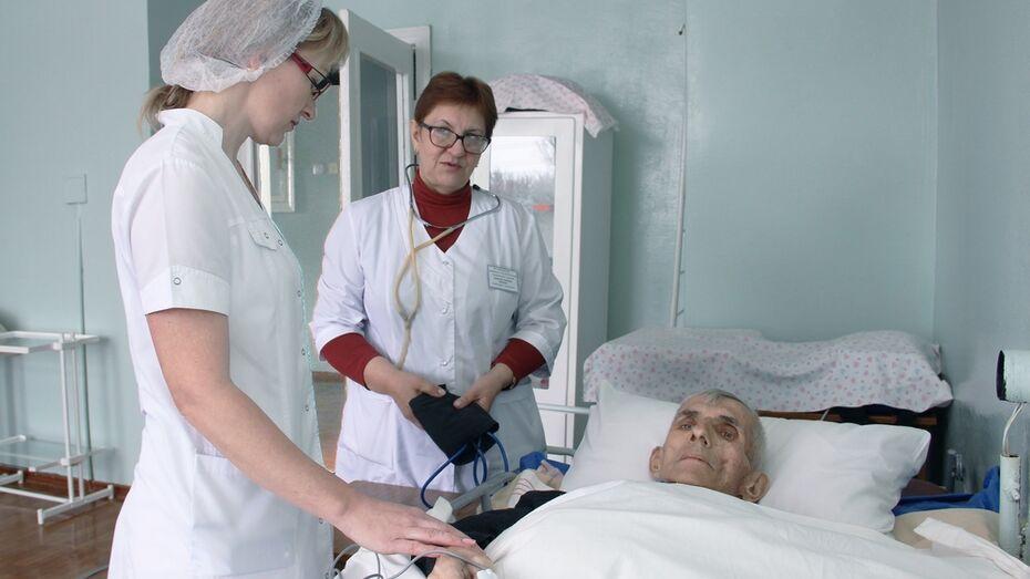 В лискинской сельской больнице появились места для неизлечимо больных