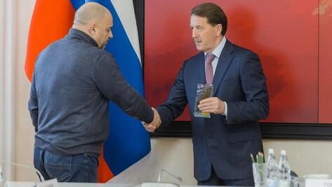 Воронежский губернатор наградил победителей областной премии по журналистике