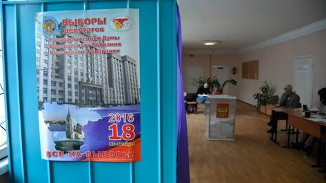 Воронежские единороссы-одномандатники получили абсолютный перевес голосов