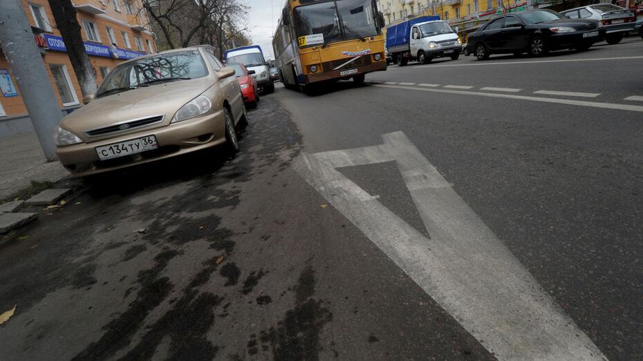 В Воронеже вернулись к идее выделения полос для общественного транспорта
