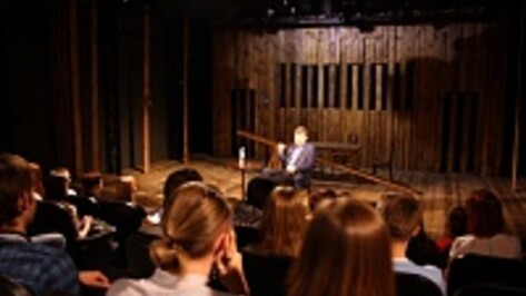 Михаил Бычков рассказал абитуриентам Академии искусств, каким должен быть актер