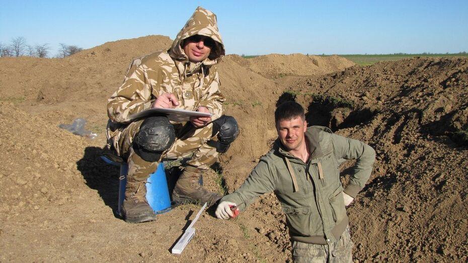 В Крыму нашли останки погибшего в Великой Отечественной уроженца Аннинского района