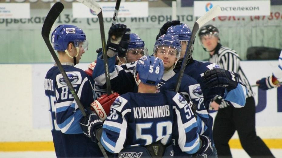 Хоккеисты «Россоши» разгромили МКХ «Липецк»