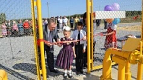 В Грибановском районе газифицировали последние села